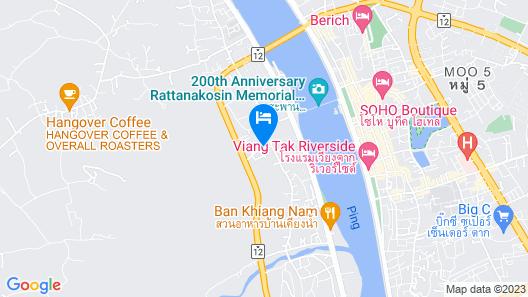 Baan Fa La Mai Resort Map