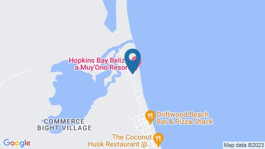 Belizean Dreams Resort Map