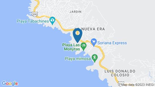 Donde Mira El Sol Tu Casa Spa Resort en Acapulco Map
