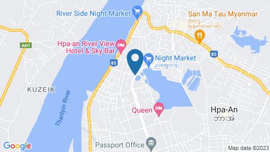 Hotel Glory Map