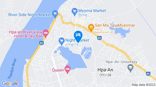 Hotel Gabana Map
