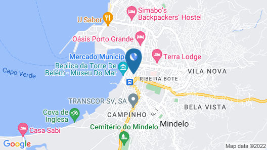 Moreno`s Boutique Hotel Map