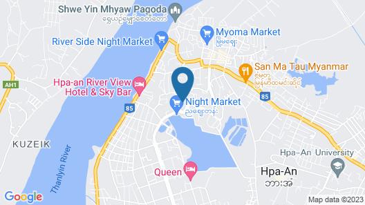 Taw Win Yadanar Hotel Map