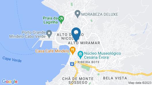 Hotel Oásis Porto Grande Map