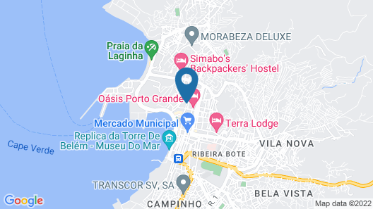 GuestHouse Soncent Lda Map