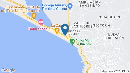 Hotel Restaurante Pie de la Cuesta by Rotamundos Map
