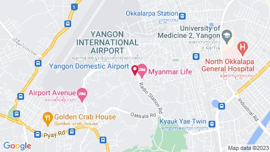 K.C Hotel Map