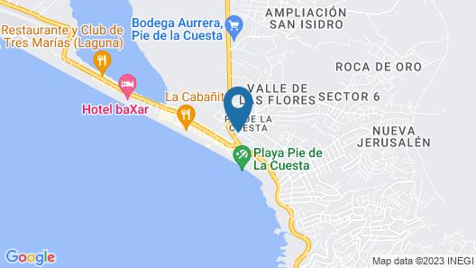 Hotel Cormoranes by Rotamundos Map