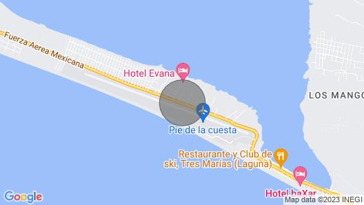 Acapulco PIE DE LA Cuesta Guest House Casa DE Huespedes Map