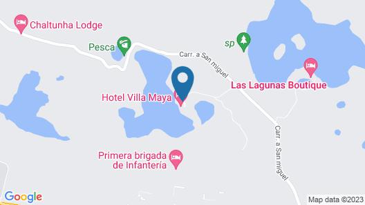 Hotel Villa Maya Map