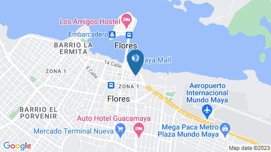 Hotel Del Patio Map