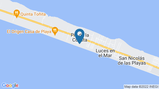 Small Luxury Hotel, Hideaway Near Acapulco on the Beach Map