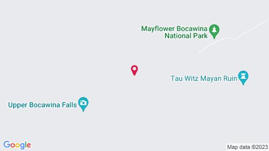 Bocawina Rainforest Resort & Adventures Map