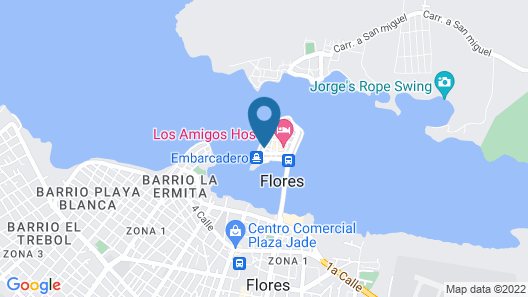 Hotel Casona de La Isla Map