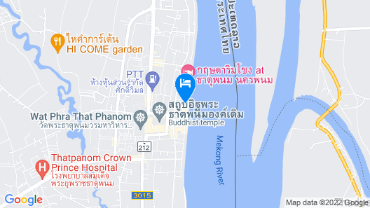 Thatphanom River View Hotel Map