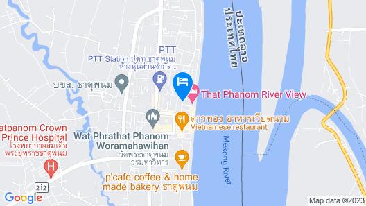 Sifong Hometel Map