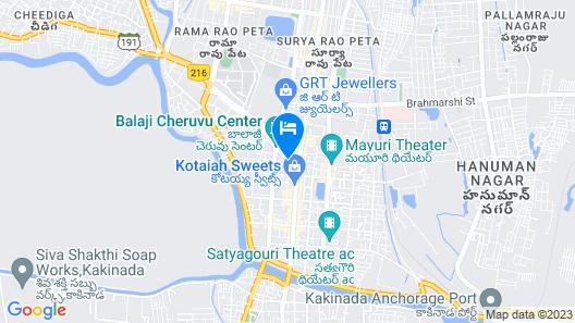 SPOT ON 48249 Udupi Sri Durga Residency Map