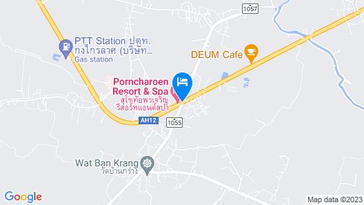 Sukhothai Porncharoen Resort & Spa Map