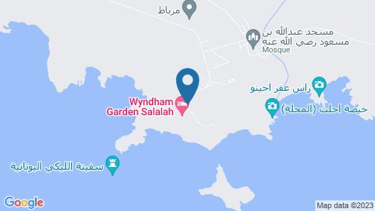 Kairaba Mirbat Resort Map