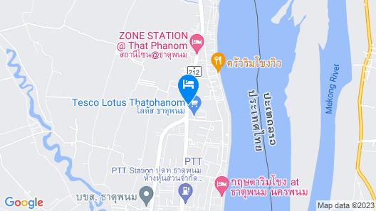 Thatphanom View Hotel Map
