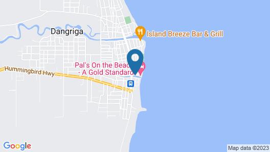 PAL'S on the beach Map