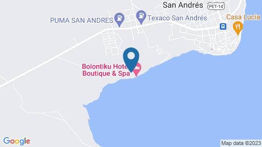 Bolontiku Boutique Hotel Map