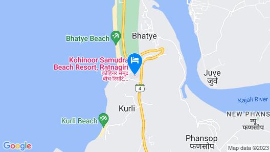 Kohinoor Samudra Beach Resort Map