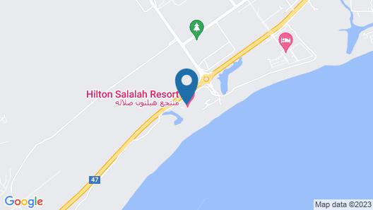 Hilton Salalah Resort Map