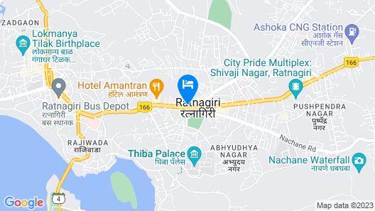 SPOT ON 41607 Aasra Lodge Map