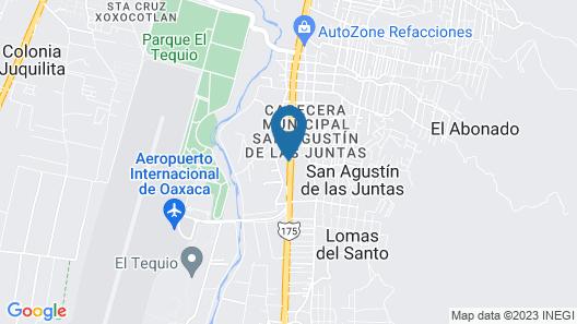 Maria Ines Hotel Suite Map