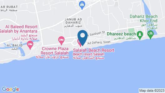 Salalah Beach Resort - Villas Map