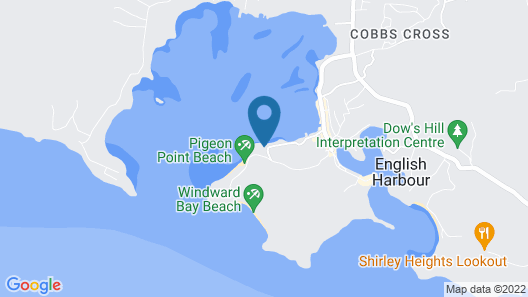 A Grand Georgian Luxurious Villa, set at an Historic Royal Navy Look-out Point Map