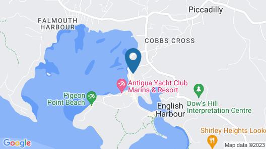 Energie Antigua Map