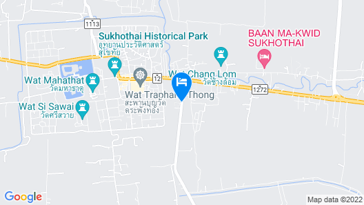 Tharaburi Resort Sukhothai Map