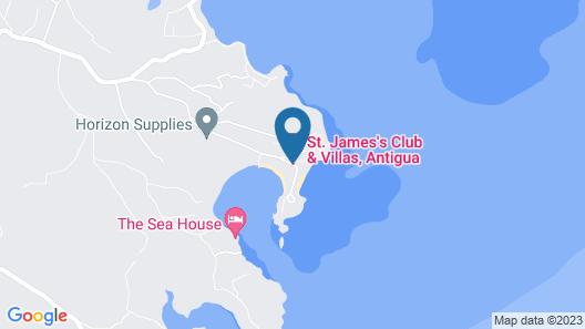 Caribbean Dream Villa Map