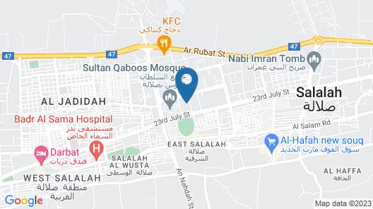 Alpha Suites Hotel Map