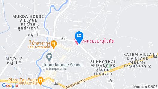 Amorn Sukhothai Hotel Map