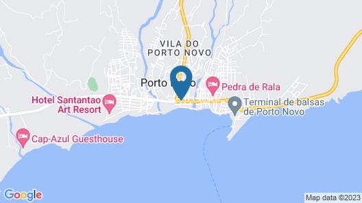 Hotel Santantao Art Resort Map