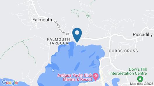 Catamaran Hotel Marina Map