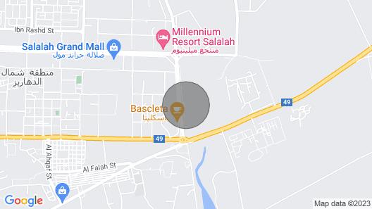 The beautiful appartment  Next to sand Dahareez Map