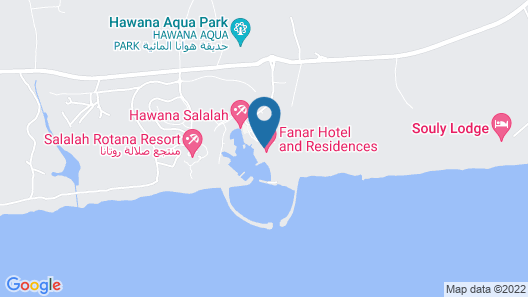 Fanar Hotel and Residences Map