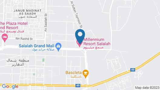 Millennium Resort Salalah Map