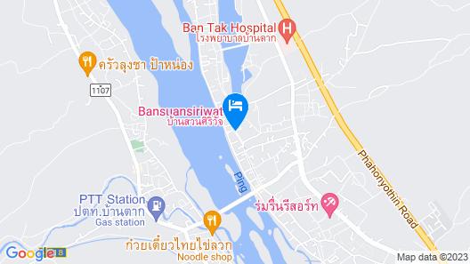 Baan Suan Siriwat Map