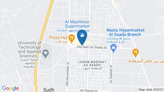Al Nile Hotel Map