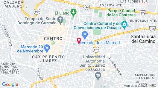 La Leyenda Hostel Map