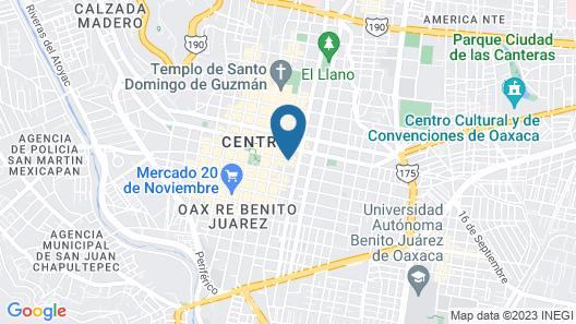 Casa De Sierra Azul Map