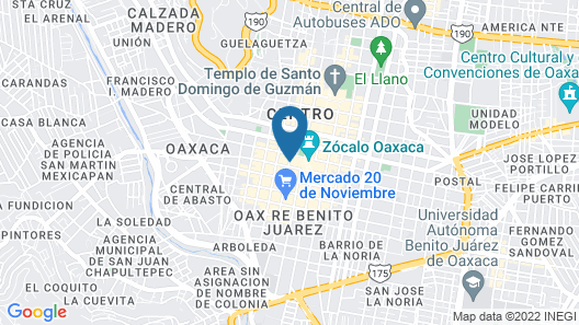 Hotel Sin Nombre Map