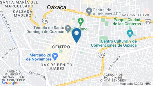 NaNa Vida Hotel Oaxaca Map