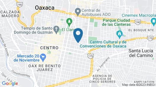 One Oaxaca Centro Hotel Map