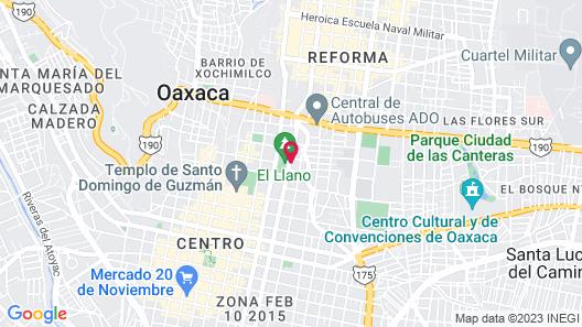 Grand Fiesta Americana Oaxaca Map